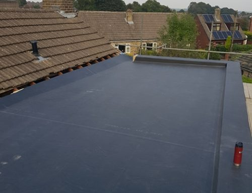 Finished Flat Roofing