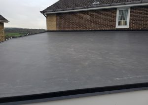 Flat EPDM Roof Re-roofing Replacement Wakefield
