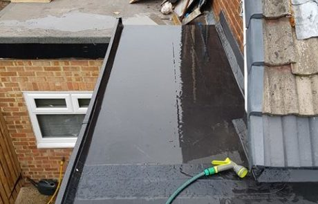 Finished Flat Rubber Roof Wakefield