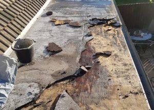 Flat Roof in Need of Repair Wakefield