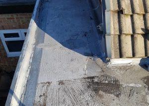 Rubber Roofing in Progress Wakefield