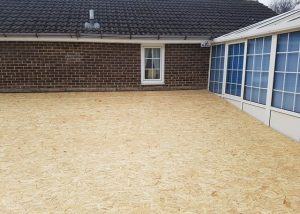Large Flat Roof Preparation Wakefield