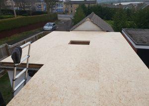 Flat roofing skylight installation Wakefield