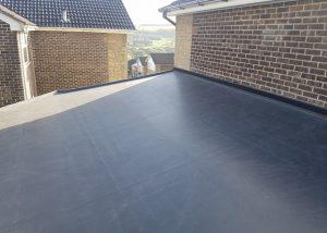 New EPDM Flat Roof