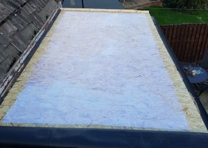 Small Flat Roof Replacement Wakefield
