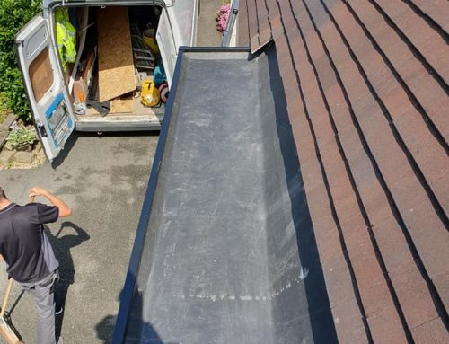 Greetland Porch Flat Roofing
