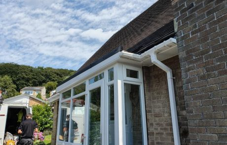 Greetland Porch Roofing Replacement Complete